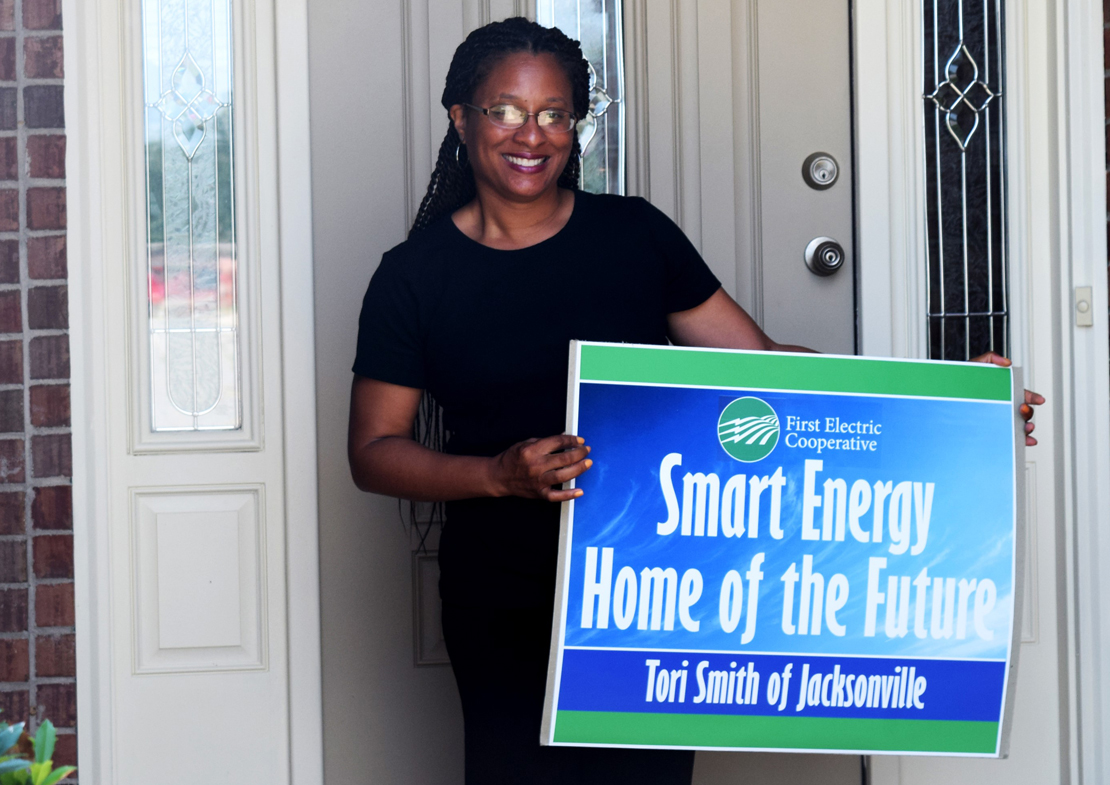 First Electric creates smart energy home of the future to educate members on high-tech energy efficiency