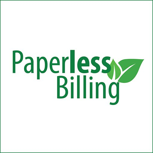 Paperless Billing is convenient, free and good for environment